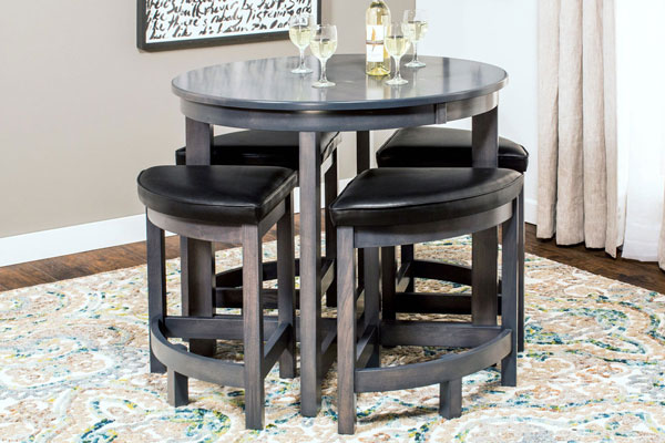 Sector High-Top Table and Barstools